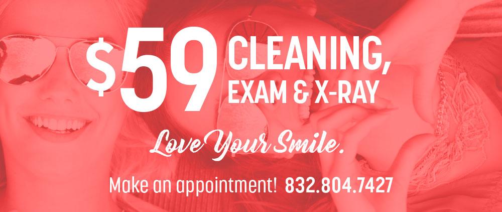 teeth exam special offers in cinco ranch texas