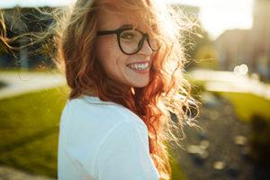 woman smiling, cosmetic dentistry cinco ranch tx, about lovett dental cinco ranch