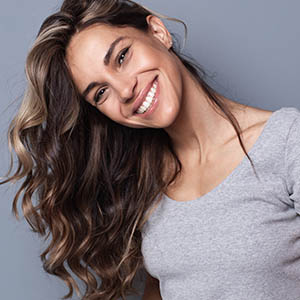 woman smiling, lovett dental cinco ranch tx