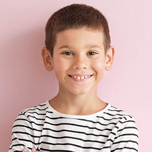 boy smiling, pediatric dentistry cinco ranch tx