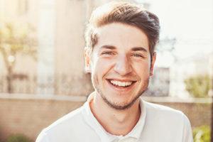 man smiling, specialty dental services cinco ranch tx, about lovett dental cinco ranch